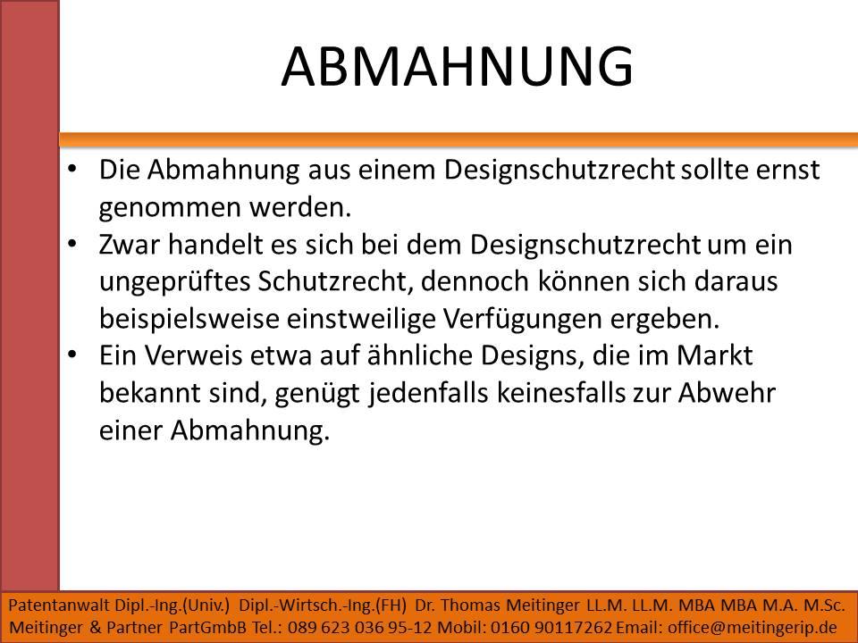 ABMAHNUNG