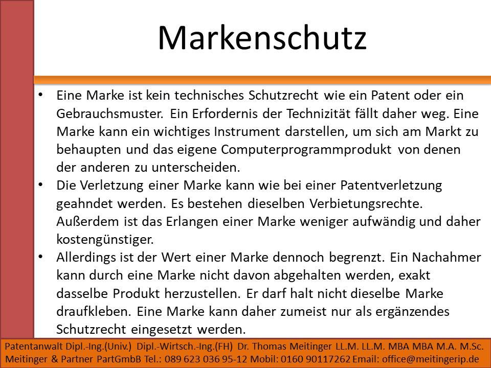 Markenschutz