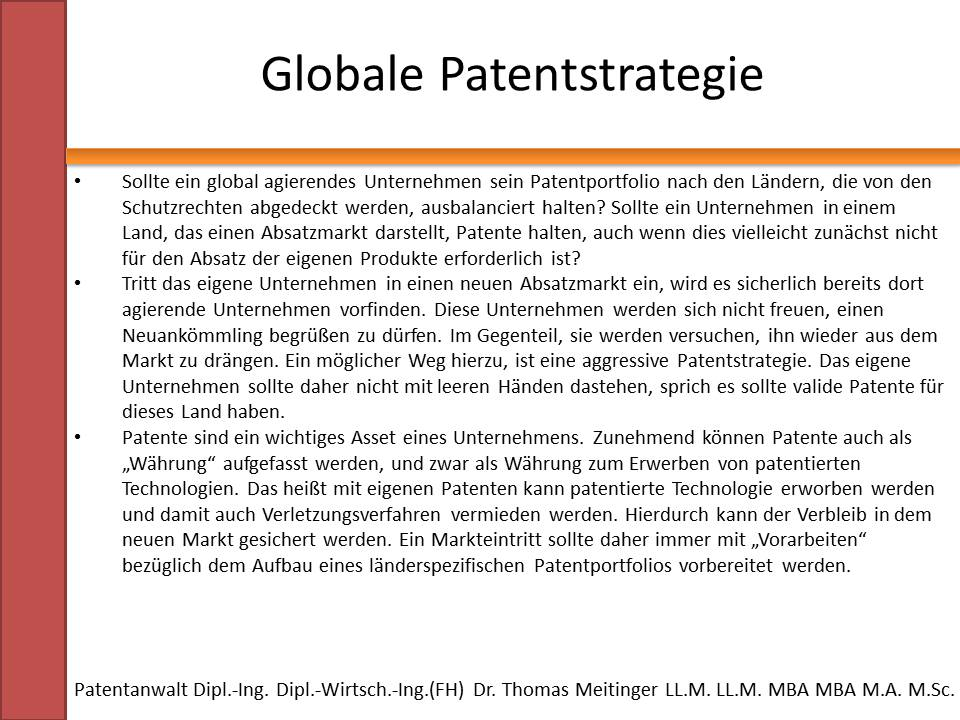 Patentstrategie