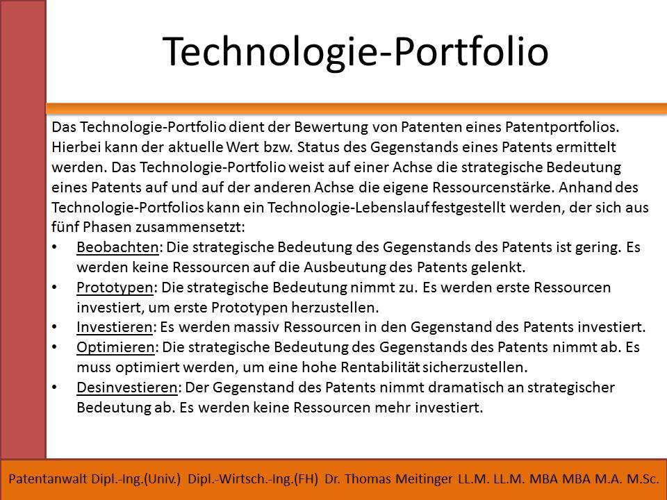 technologie-portfolio