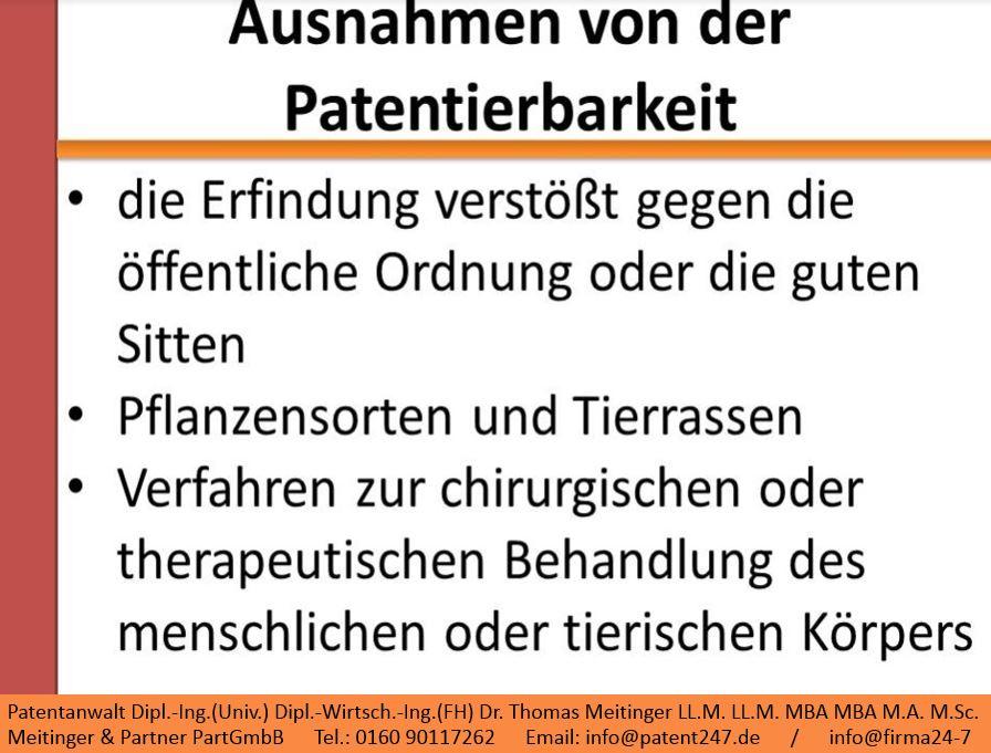 3_ausnahmen von der patentierbarkeit